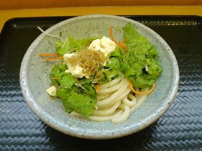 和風サラダうどん@はなまるうどん 三軒茶屋店(三軒茶屋)