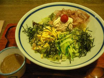 七目サラダうどん@のらや 三軒茶屋店(三軒茶屋)