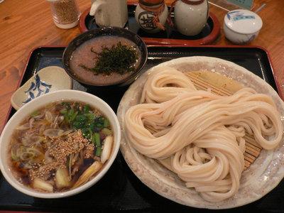 糧盛りうどん(大盛)+おしぼり@エン座(石神井台)