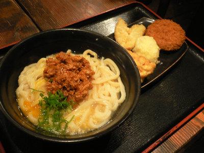 たんたまうどん@東京麺通団(新宿)