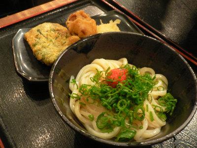 めんたいしょうゆうどん@東京麺通団(新宿)