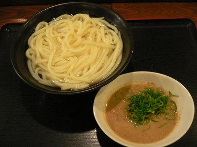 ごま味噌つけうどん(温、大)@東京麺通団(新宿)