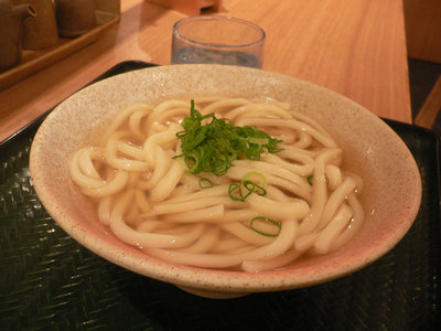 かけうどん@はなまるうどん 甲州街道店(新宿)