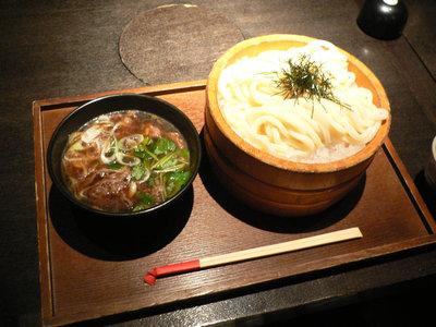 肉汁うどん(2つ玉)@つるとんたん 新宿店(新宿)