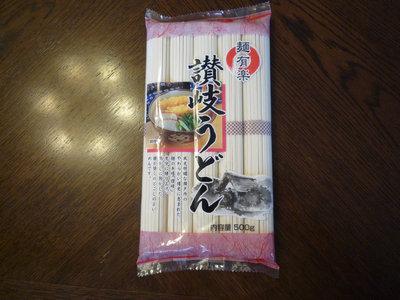 納豆うどん(温)の乾麺