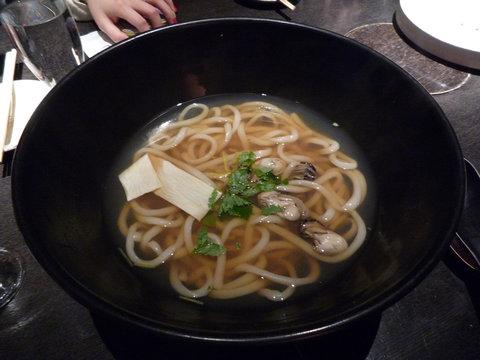 牡蠣のおうどん@つるとんたん 新宿店(新宿) その1