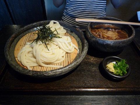 牛と土ゴボウのつけ麺@山元麺蔵(東山)
