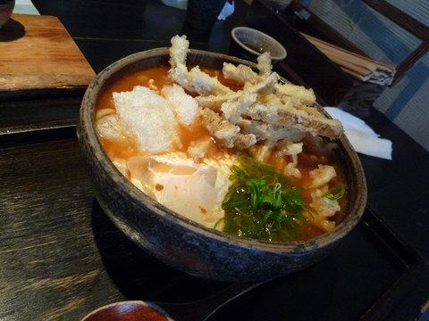 赤い麺蔵スペシャル@山元麺蔵(東山)