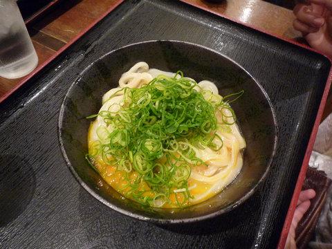 釜玉(小)@東京麺通団(新宿)