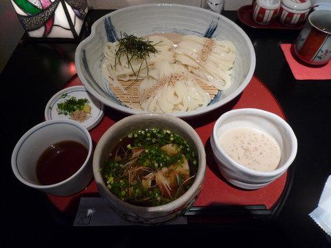 欲張りつけ麺@うどん 彩蔵(淵野辺)