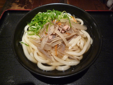 けんちんうどん(大)@東京麺通団(新宿)
