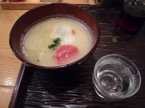 香川のお雑煮+悦凱陣@丸香(神保町)