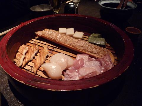 具材、肉、魚介@つるとんたん 新宿店(新宿)