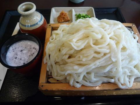 おしぼり汁うどん(大盛)@花坊(経堂)