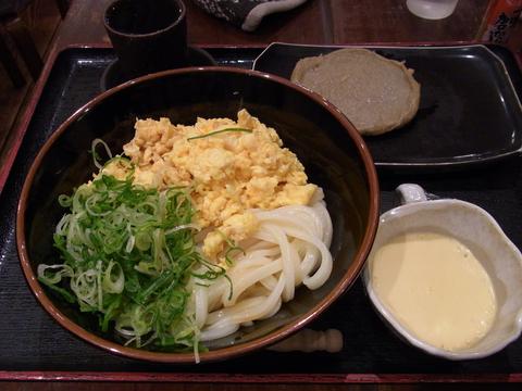 ひやたまうどん(大)@東京麺通団(新宿)
