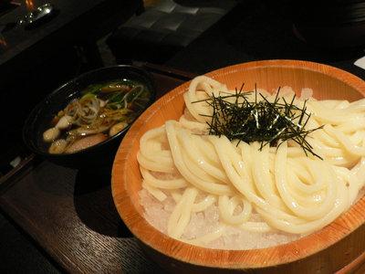 鴨汁うどん(冷)@つるとんたん 新宿店(新宿)