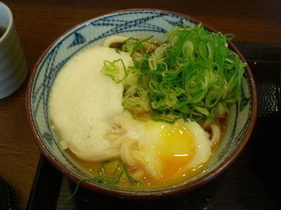 とろ玉うどん(並)@丸亀製麺 品川店(品川)
